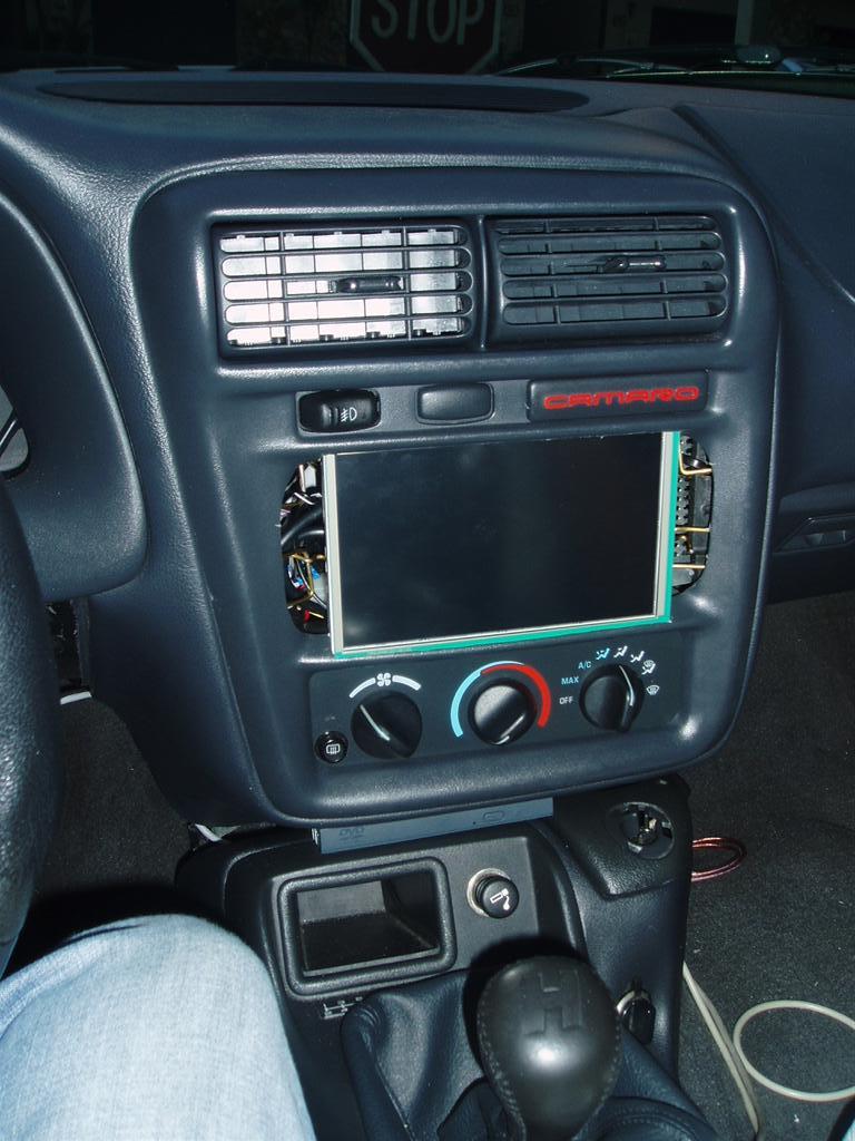 1998 Chevrolet Camaro Z28 >> 1997 camaro totally indash LCD and PC - CamaroZ28.Com ...